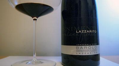 Fontanafredda Barolo Lazzarito Vigna La Delizia 2001