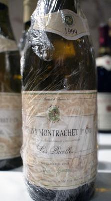 """Domaine Marc Jomain Puligny Montrachet Premier Cru """"Les Pucelles"""" 1999"""