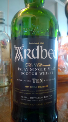 Ardbeg Islay Single Malt Scotch whisky 10yo