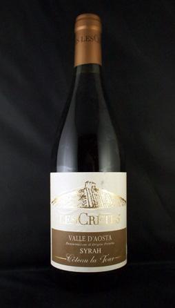Les Cretes Chardonnay Cuvée Bois Valle d'Aosta DOC 2009